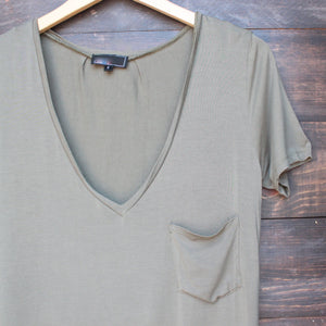 tease me oversize soft v neck tshirt (more colors) - shophearts - 14