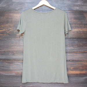 tease me oversize soft v neck tshirt (more colors) - shophearts - 13