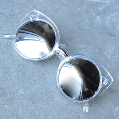 FINAL SALE - Quay China Doll sunglasses - clear - shophearts - 1