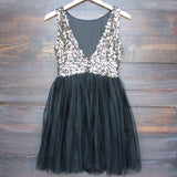 sugar plum dazzling sequin with tulle darling party dress (more colors) - shophearts - 2