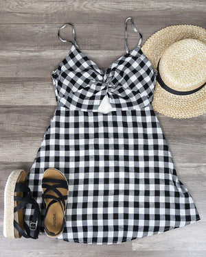 Cotton Candy LA - Summer Land Dress in Black
