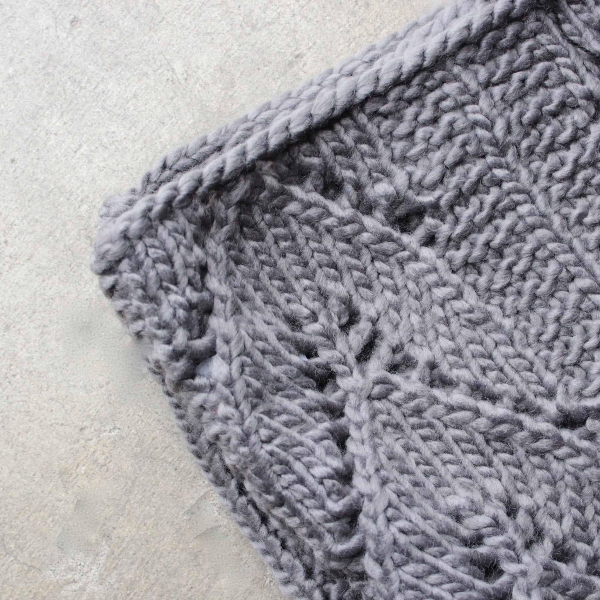 knit leaf pattern infinity scarf (more colors) – shophearts