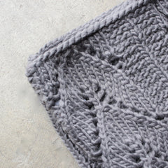 knit leaf pattern infinity scarf (more colors) - shophearts - 6