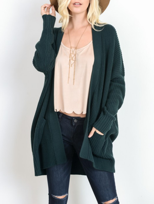 FINAL SALE - Southern Comfort Open Knit Cardigan in Blush