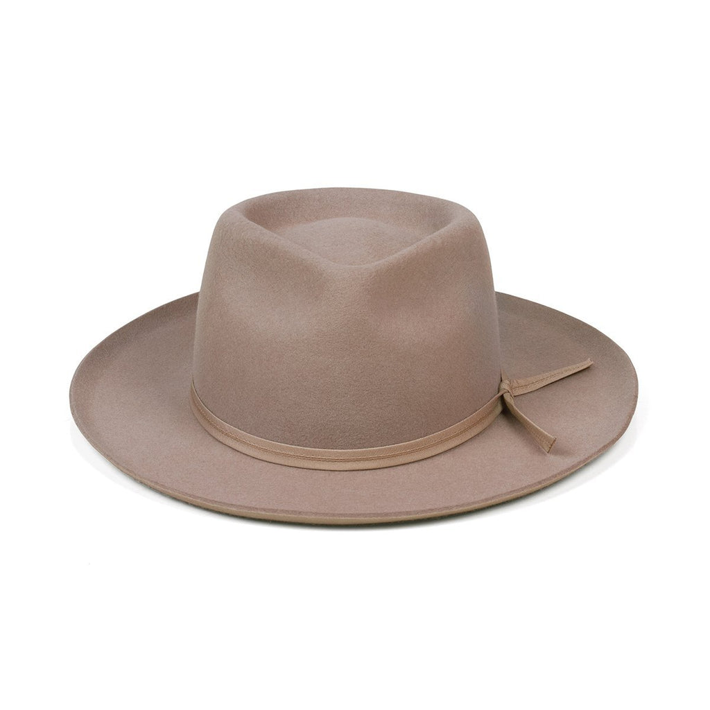 Lack of Color - The Zulu II Vintage Classic Fedora - Sand