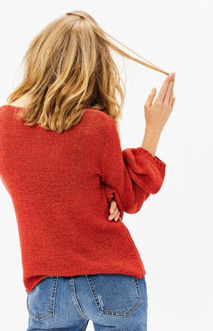 Final Sale - MINKPINK - Lauren Knit Jumper in Red
