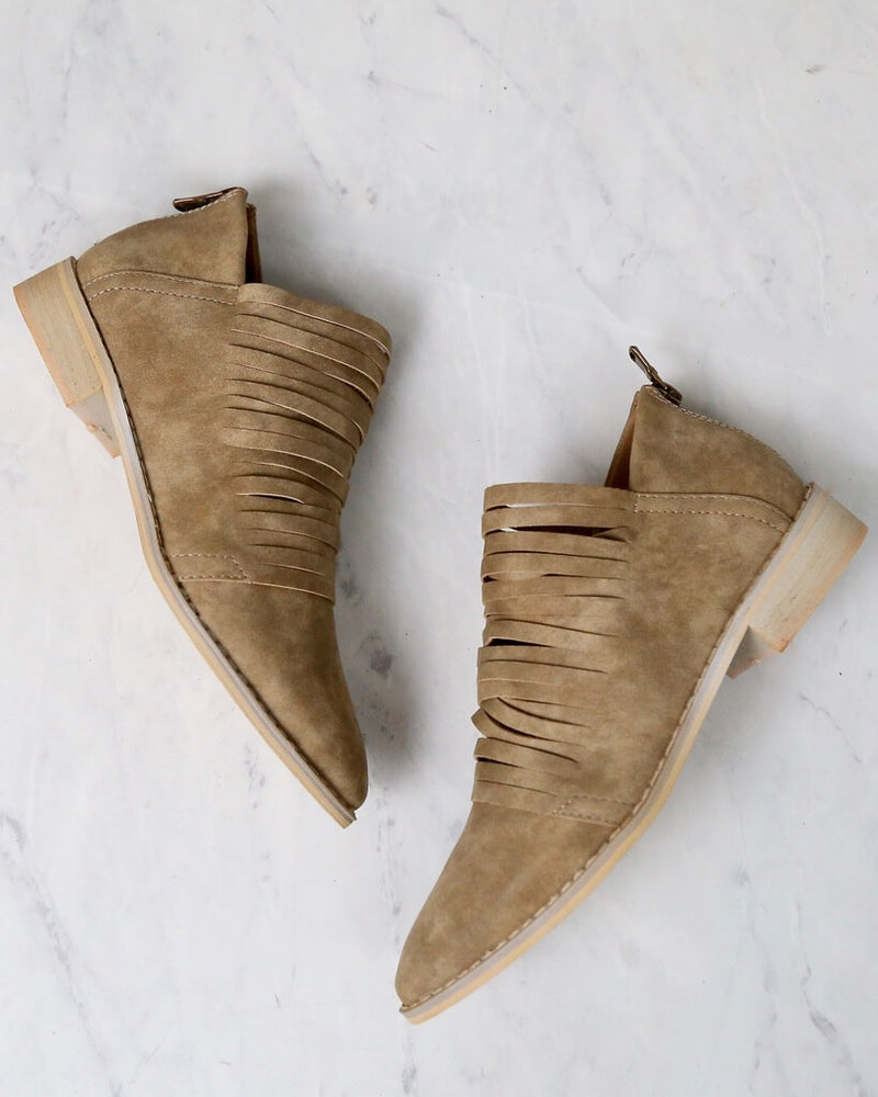 Anastasia Shredded Ankle Bootie in More Colors