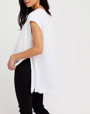 Free People - Aster High-Low Henley Top in More Colors