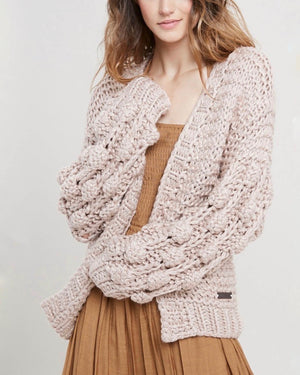 oversized knit cardigan, long knitted cardigan