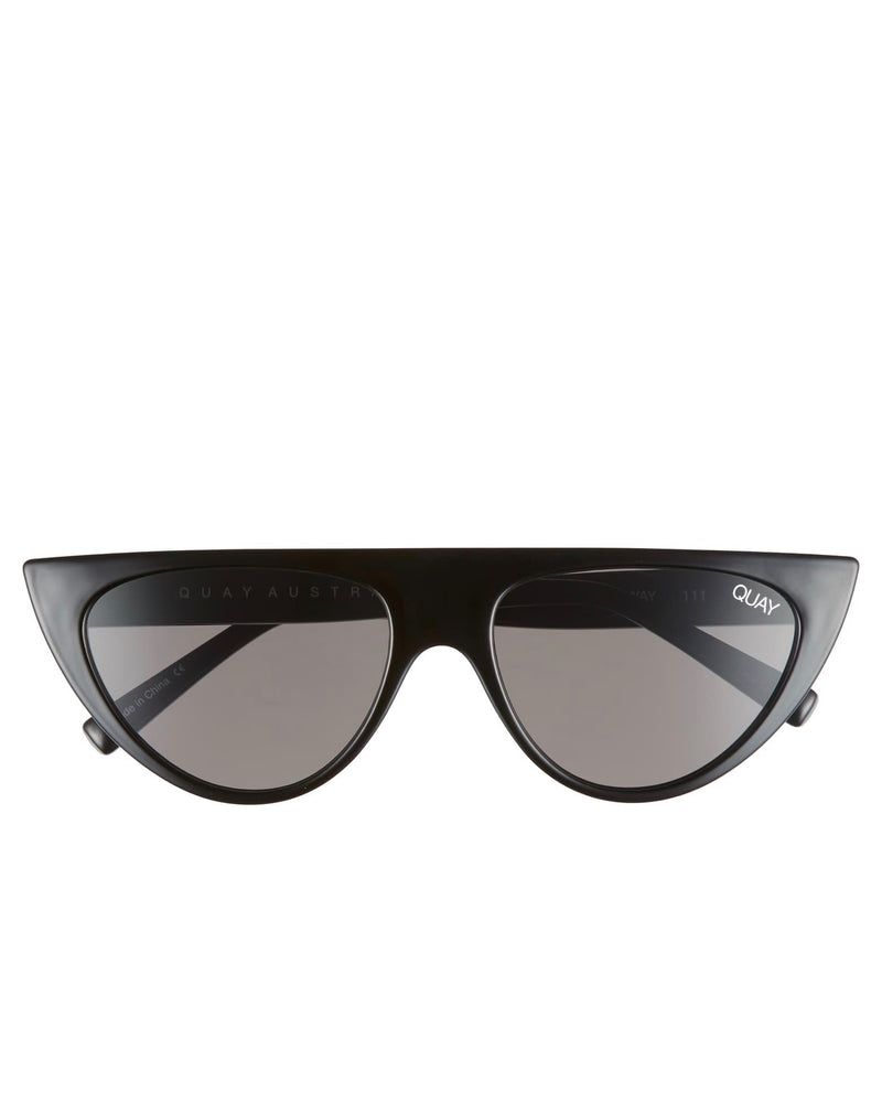 Quay Australia - Run Away Sunglasses - Black Smoke