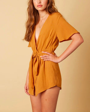 Final Sale - Cotton Candy LA - Libra Rayon Romper - More Colors