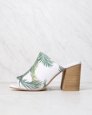 Sbicca - Panorama Heeled Sandal in White/Multi