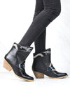 Sbicca - Sookies Black Southwest Ankle Boots in Black