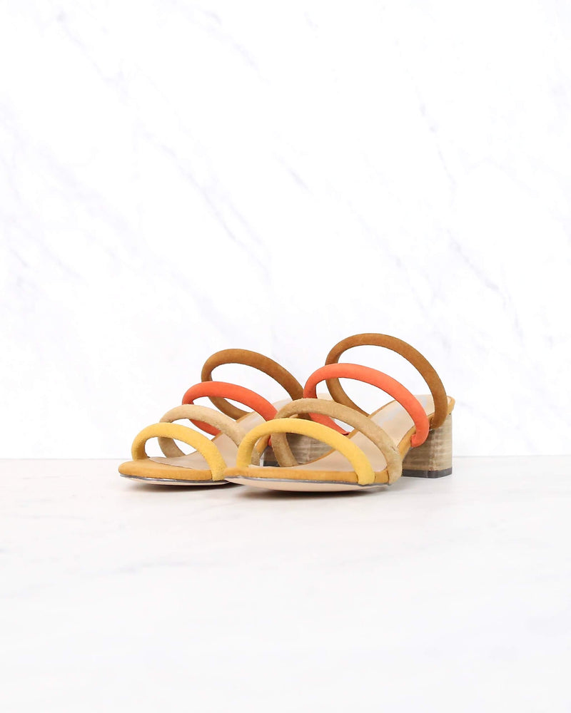 Sbicca - Alysheba Low Heel Strappy Sandal in Bright Multi