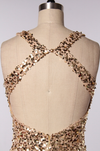 perfect party ball gown gold sequin maxi dress - shophearts - 5