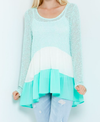 ruffle me up sweater tunic (4 colors) - shophearts - 7
