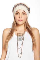 chaser - campfire knit slouchy beanie - shophearts - 3