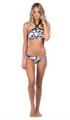 bikini lab - mix & match tropic full of sunshine high neck halter (top only) - shophearts - 3