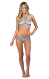 bikini lab - mix & match let it deco high neck halter (top only) - shophearts - 3