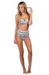 bikini lab - mix & match let it deco high waist bikini bottom - shophearts - 2