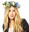 rock n rose -  cambridge handmade floral meadow crown headband - shophearts - 4