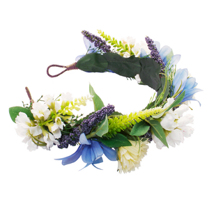 rock n rose -  cambridge handmade floral meadow crown headband - shophearts - 3