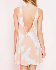 jungle fever dress - peach - shophearts - 4