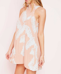 jungle fever dress - peach - shophearts - 5