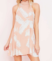 jungle fever dress - peach - shophearts - 6
