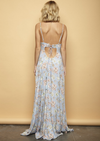 open back floral maxi - sky blue - shophearts - 6