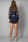 Lioness - Road to Nowhere Gauzy Lace Romper with Bell Sleeves in More Colors