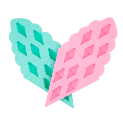 sunnylife - Ice Cream Ice Trays 2 Set - Pink and Turquoise - shophearts - 2