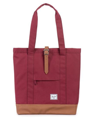 herschel supply co. - womens market tote - windsor wine - shophearts - 2
