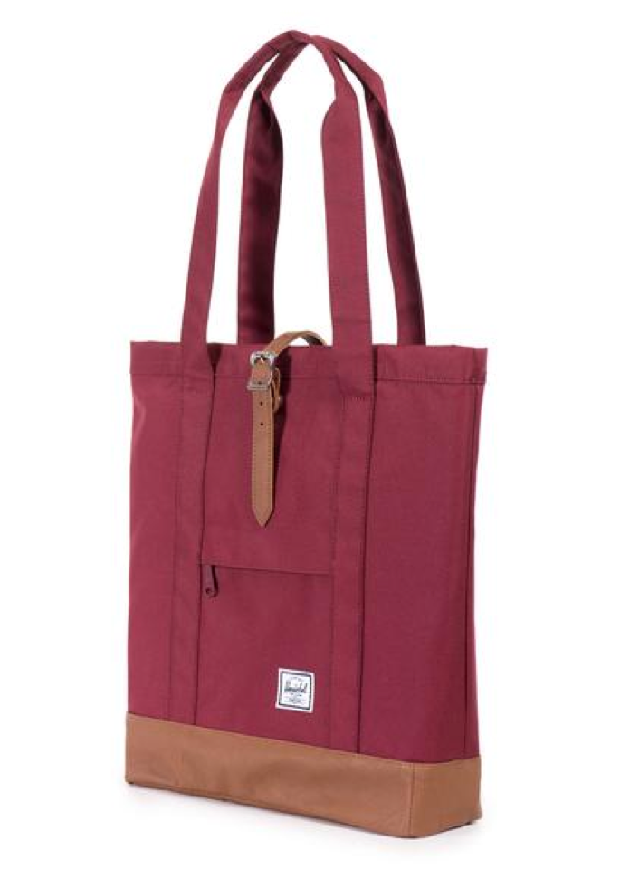 herschel supply co. - womens market tote - windsor wine - shophearts - 3