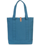 herschel supply co. - womens market tote -  Indian Teal/Tan Pebbled Leather - shophearts - 4