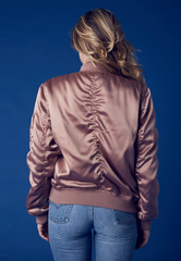 padded satin bomber jacket - mauve - shophearts - 6