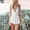 the jetset diaries - el dorado tan striped romper - shophearts - 1