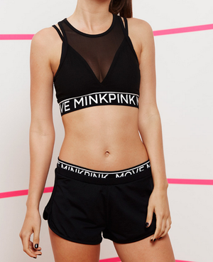 minkpink move - the dark side jogger shorts - black - shophearts - 4