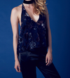 hailey burnout velvet halter top - navy - shophearts - 6