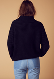 citrus oversize sweater - black - shophearts - 4