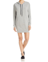 michelle by comune - 'quinlan' heather grey french terry hoodie dress - shophearts - 4