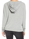 Michelle by Comune - 'cove' french terry hoodie - heather grey - shophearts - 5