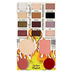 theBalm cosmetics - Travel Friendly Balm Jovi Rockstar Face Palette - shophearts - 7