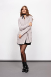minkpink - now & then chunky knit sweater coat - light grey - shophearts - 3