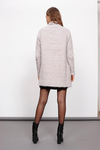 minkpink - now & then chunky knit sweater coat - light grey - shophearts - 4