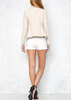 last kiss chic jacket - nude