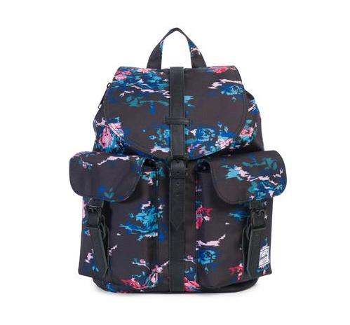 herschel supply co. - womens dawson backpack - floral blur - shophearts - 2