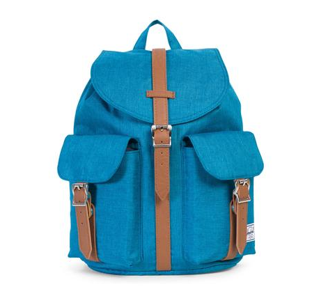 herschel supply co. - womens dawson backpack - petrol crosshatch - shophearts - 2