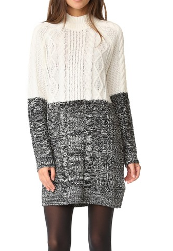minkpink - two faced cable knit dress - shophearts - 5