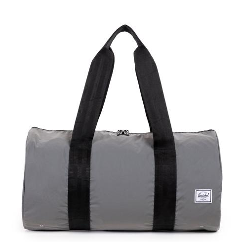 herschel supply co. - 'packable duffle' - reflective silver - shophearts - 1